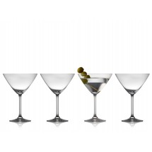 Lyngby Glas Martini 28 cl 4 stk, Juvel
