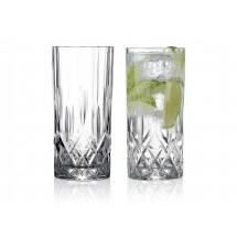 Lyngby Glas Highball 35 cl 2 stk, Lounge