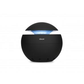 DUUX Luftrenser med natlampe i sort, Sphere