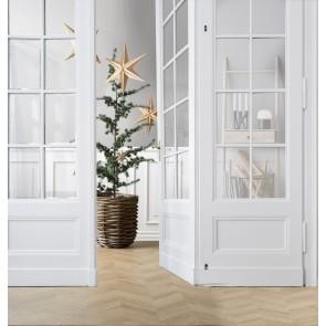 Villa Collection Stjerne til dekoration i finér/papir 65 cm