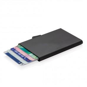 C-secure aluminium rfid kort holder