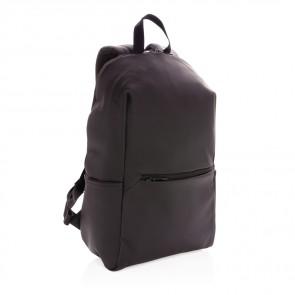 """Blød 15.6"""" pu laptop rygsæk"""