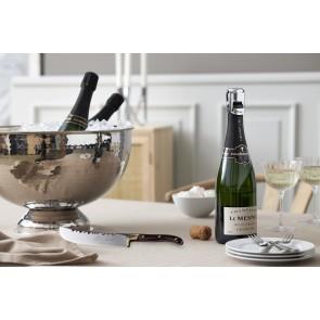 Bastian Champagnebowle dia. 38 cm i hamret blank stål