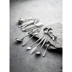 Gense Teske 14 cm i mat/blank stål, Fuga
