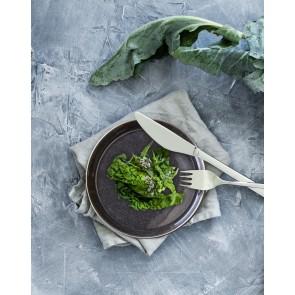 Gense Bordgaffel 19 cm i mat/blank stål, Fuga