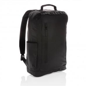 """Fashion 15.6"""" laptop rygsæk, sort, PVC fri"""