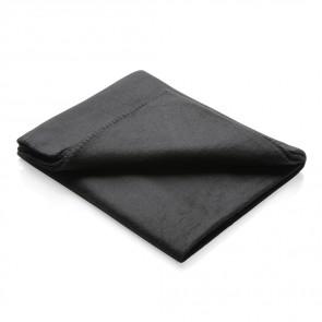 Fleece tæppe i pose
