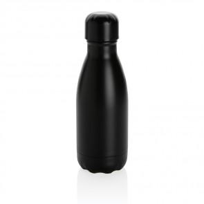 Ensfarvet vakuum rustfrit stål flaske, 260ml