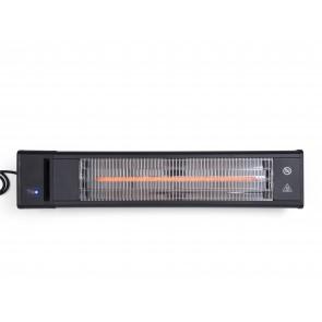 Scandinavia Gifts Terrassevarmer, 1600 watt - væg m. fjernbetjening, 74x16x16 cm