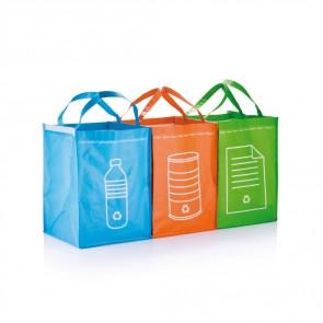 3 stk. genbrugs affalds poser