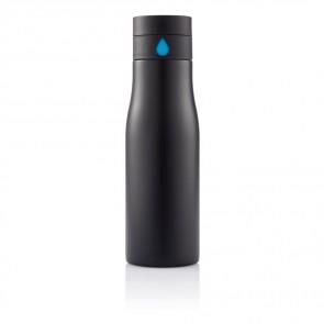 Aqua vandflaske, med væske indikator