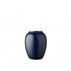 Bitz Vase 12,5 cm i mørkeblå