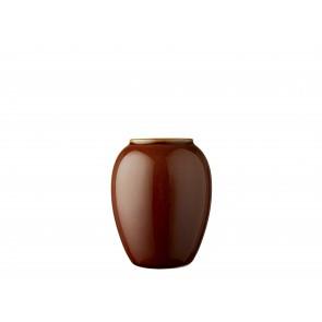 Bitz Vase 12,5 cm i amber