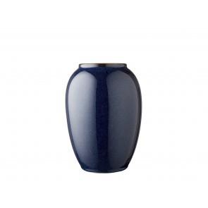 Bitz Vase 20 cm i mørkeblå