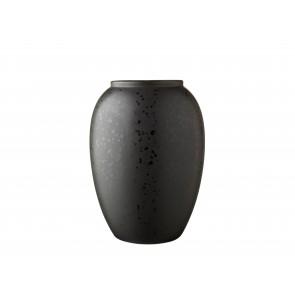 Bitz Vase 20 cm i mat sort