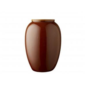 Bitz Vase 25 cm i amber
