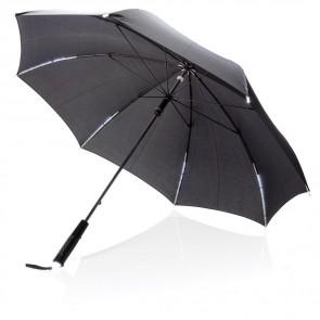 """23"""" manuel åben/lukke paraply med LED"""