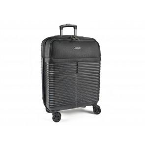 Scandinavia Travel Business kabinetrolley med laptop lomme 40x20x56 cm i sort