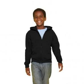 Kids Full Zip Hooded Sw 18600b