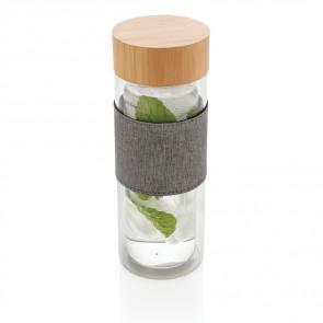 Impact dobbeltvægget borsilikatglas  glas flaske