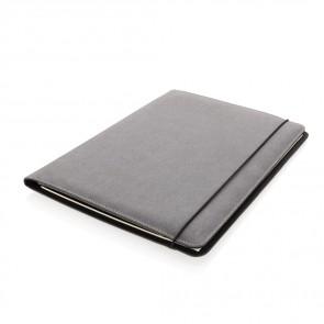 A4 portfolio af genavendt læder