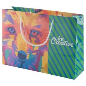 CreaShop H specialfremstillet papir indkøbspose, vandret