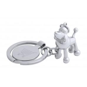 Hoinzo indkøbsmønt nøglering, hund
