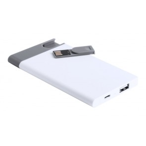 Spencer USB power bank og -stik