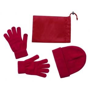 Duvel hue og handsker sæt