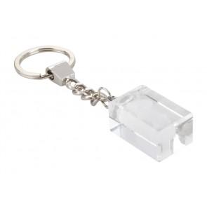 Glass nøglering