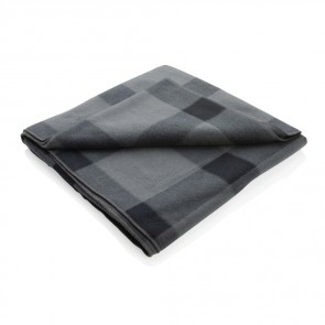 Blødt fleece plaid - tæppe