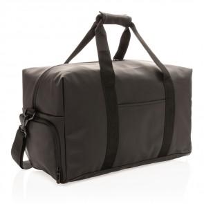 Blød pu weekend duffel taske