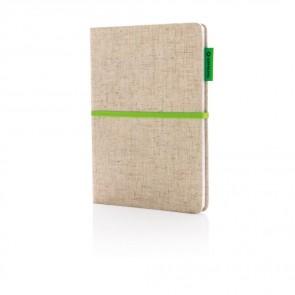 A5 ECO jute notesbog