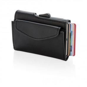 C-secure rfid kortholder og mønt/nøglepung