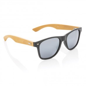 Hvedestrå og bambus solbrille