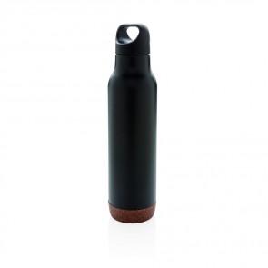 Cork leakproof vakuum flaske